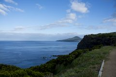Island. Açores ilha do pico - Portugal Royalty Free Stock Photo