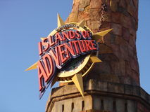 Island of Adventure Stock Photography