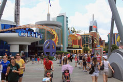 Island of Adventure in Orlando, Florida Stock Photos