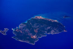 Island in Aegean Sea Royalty Free Stock Photography