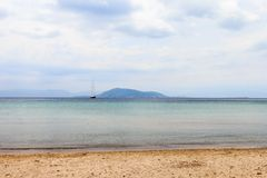 The Island Of Aegina. In Greece Stock Photography