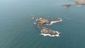 Island aerial Royalty Free Stock Images