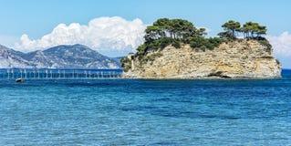 The island of Agios Sostis near the town of Laganas Zakynthos i Stock Photos