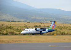 Island Air regional flight from Maui, Hawaii Royalty Free Stock Photo