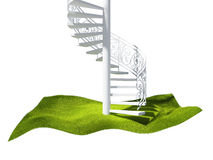 Island  in the air and stairs Royalty Free Stock Photos