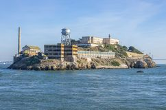 The island of Alcatraz,San Francisco Royalty Free Stock Images