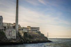The island of Alcatraz,San Francisco Stock Photography