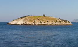 An Island from Amasra Royalty Free Stock Images