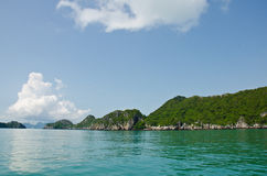 Island And Sea In The Gulf Of Thailand. Royalty Free Stock Images