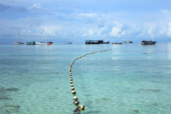 Island in the Andaman sea Stock Images