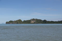 Island in andaman sea Stock Image