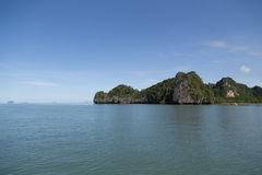 Island in andaman sea Stock Photo