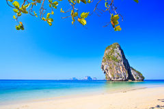 Island in Andaman sea. Island at Railay in Krabi province of Thailand Stock Photos
