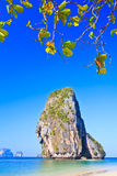 Island in Andaman sea. Island at Railay in Krabi province of Thailand Royalty Free Stock Image