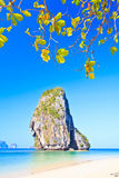 Island in Andaman sea. Island at Railay in Krabi province of Thailand Stock Image