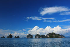 Island of the Andaman Sea, Thailand Stock Image