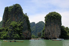 Island in Andaman sea Royalty Free Stock Images