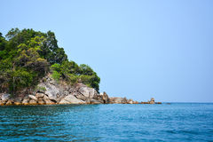Island in Andaman sea, Thailand Royalty Free Stock Photos