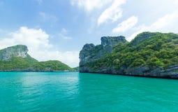 Island at Ang Thong national park ,Thailand Stock Image