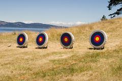 Island Archery Range Stock Photography
