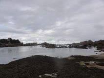 Island aux oiseaux in France - Gulf of Morbihan. The Ile aux oiseaux is a small island of the Gulf of Morbihan belonging to the state. She is managed by the Royalty Free Stock Photography