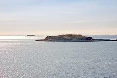Island on Baltic Sea Royalty Free Stock Photo