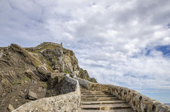 Island Basque country Royalty Free Stock Photo