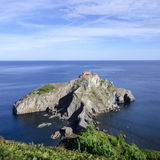 Island Basque country Stock Images