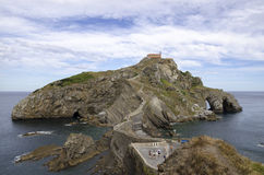 Island Basque country Royalty Free Stock Images