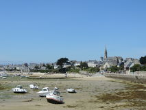 Island of Batz in Brittany ;france Royalty Free Stock Images
