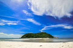 Island Beach in Koh Ma, Thailand. Stock Images