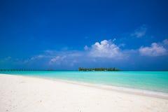 Island and beach Stock Photography