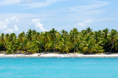Island with beautiful beach Royalty Free Stock Images