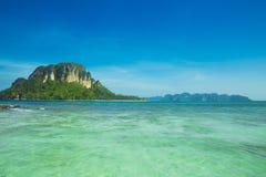 Island, beautiful ocean sea beach seascape Thailand Andaman Islands summer travel Royalty Free Stock Photography