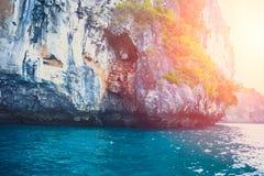 Island, beautiful ocean sea beach seascape Thailand Andaman Islands summer travel Stock Image