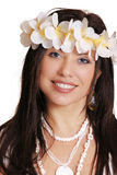 Island Beauty. Island Girl royalty free stock photos
