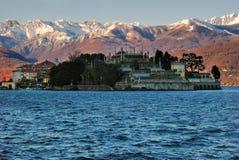 Island bella. Isola bella at maggiore lake in italy stock photography