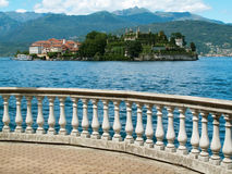 Island Bella Maggiore Lake Royalty Free Stock Images