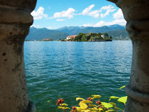 Island Bella Maggiore Lake Royalty Free Stock Photography