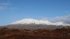 Island bergsikt royaltyfria foton