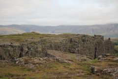 Island bergstopp Royaltyfria Foton