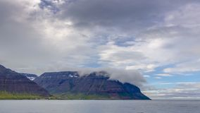 Island bergtimelapse lager videofilmer