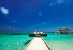 Island berth Stock Images