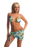 Island Bikini Blonde Royalty Free Stock Images