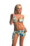 Island Bikini Blonde Stock Photos