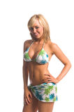 Island Bikini Blonde Royalty Free Stock Photos