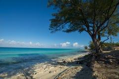 The island of Bimini beaches wider shot Stock Photo