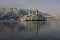 Island of Bled Royalty Free Stock Image