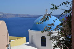 The Island in the blue lustre. The balmy breath of spring stock images