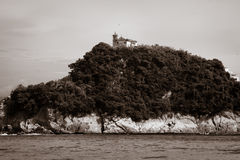 Island of Boa Viagem in the city of Niteroi Stock Photo